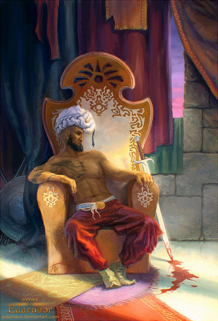 The Trone by Edarneor