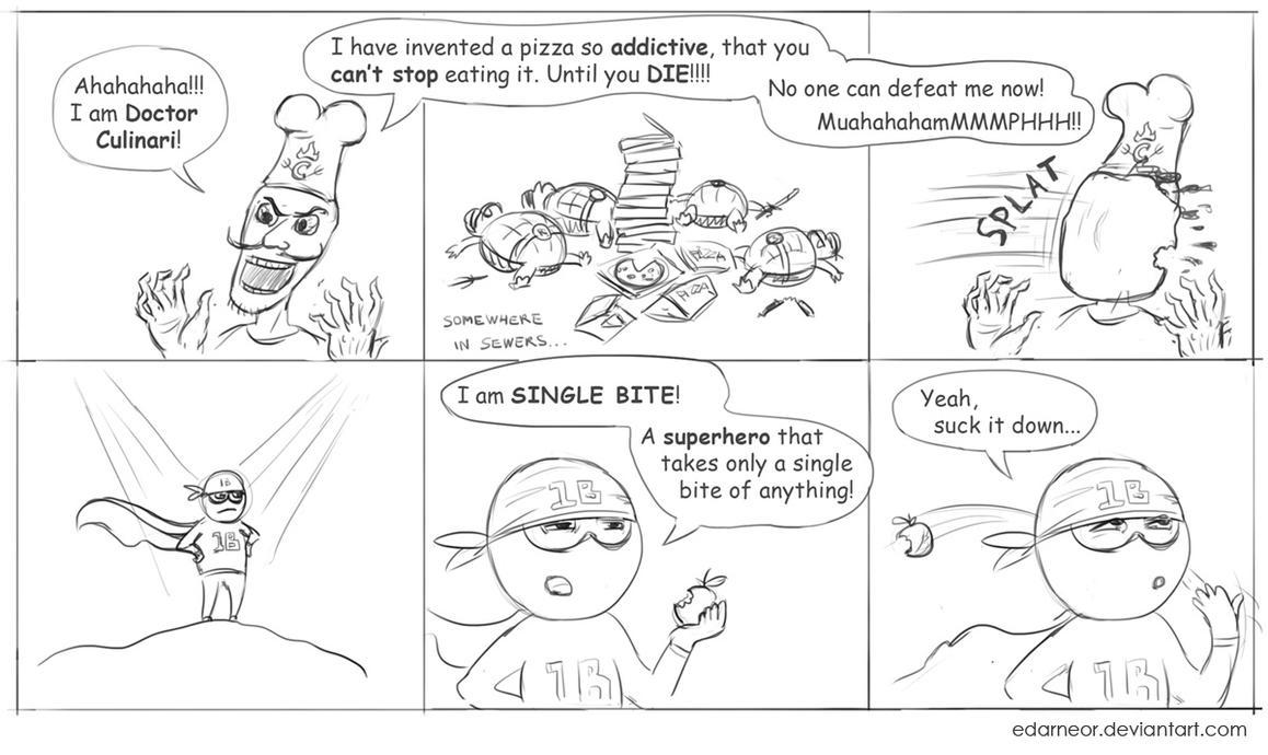 Single Bite by Edarneor