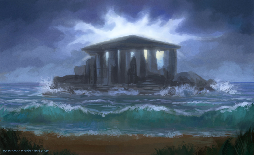 Still dreaming of sea by Edarneor