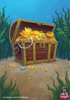 10 Gallon Tank treasure card