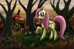 Fluttershy in Wonderland