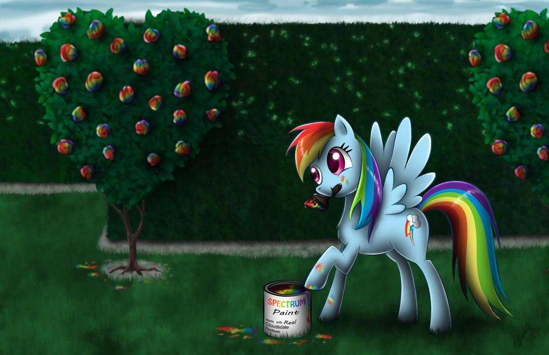 Rainbow Dash in Wonderland by wdeleon