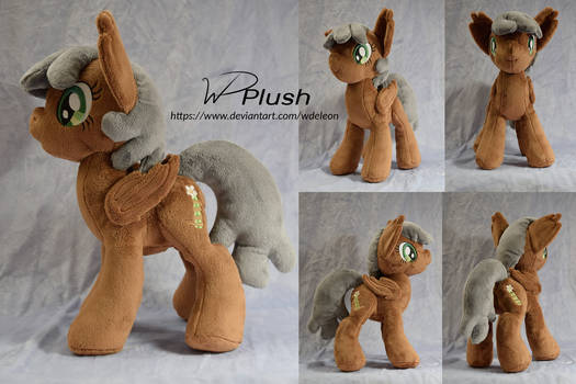 Discolor custom plush