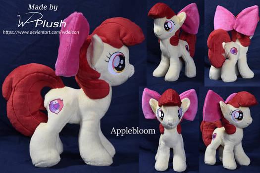 Applebloom custom plushie