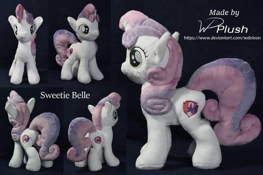 Sweetie Belle custom plushie