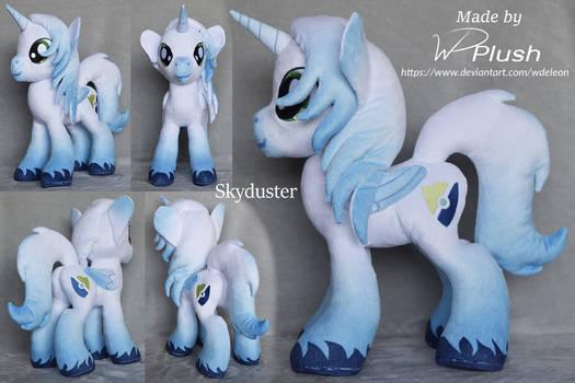 Skyduster custom plushie