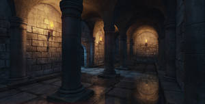 Medieval Interior by Mellon3D