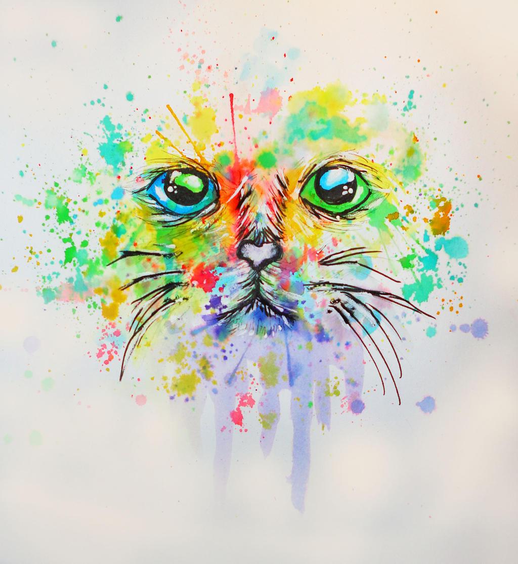 Feline Feelings by AquaStorm4