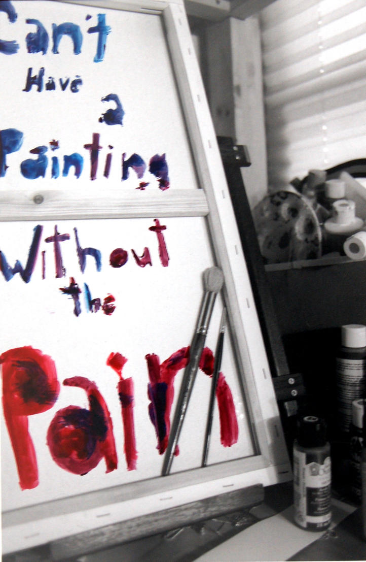 Painting with Pain by AquaStorm4