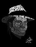 Michael Jackson Typography by blasianninja42