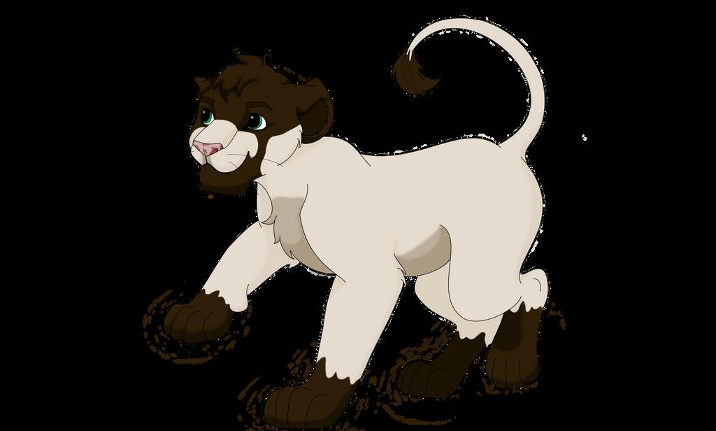 Baby Lion by TLKAnga