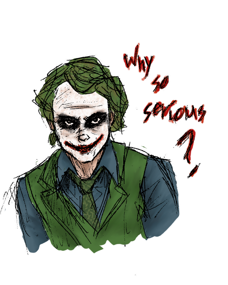 Why So Serious By Lunahermione On Deviantart