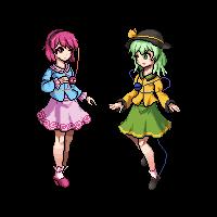 Komeiji sisters by Quwanti
