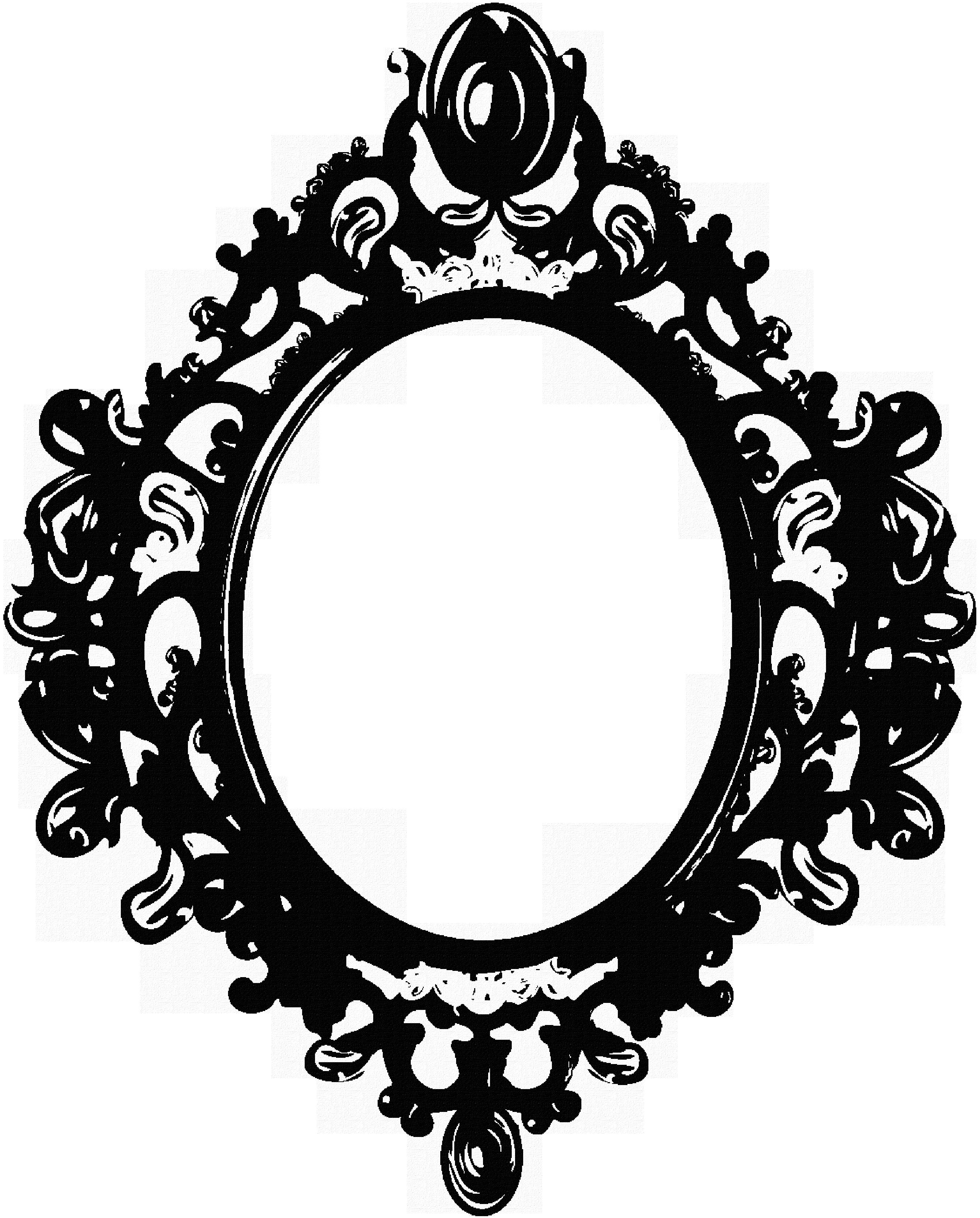 Black Mirror Frame By Berrykissed Scraps 2012 2015 Berrykissed Mirror