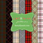 Background patterns: Plaid and houndstooth