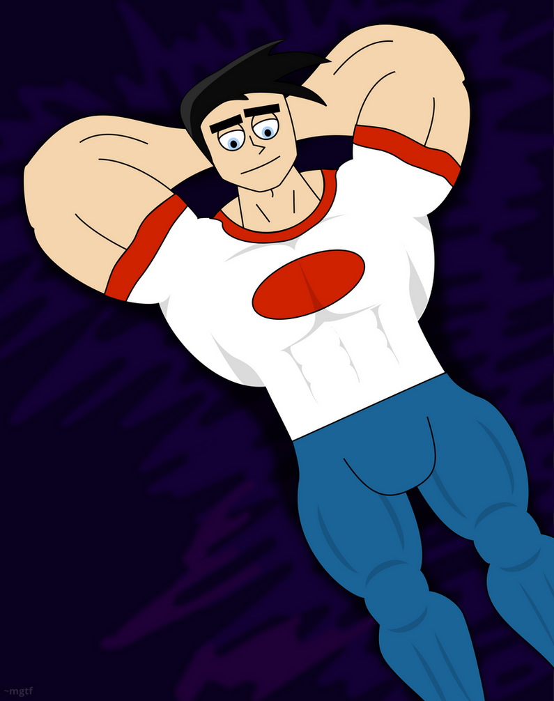 danny fenton big and buff 1 by mgtf on deviantart