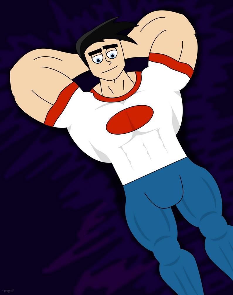 Danny Fenton, big and buff (#1) by mgtf on DeviantArt