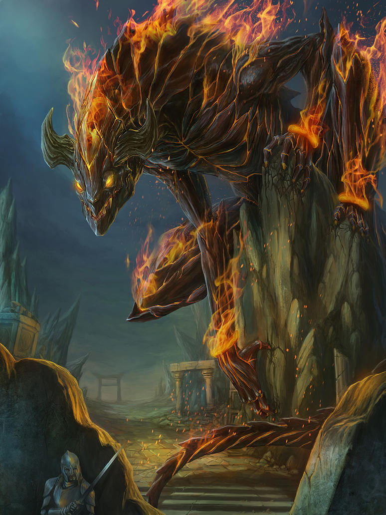 Ifrit by LieSetiawan