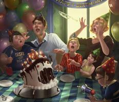 Birthdaycakemonster Liesetiawan by LieSetiawan