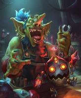 Mad goblin technician by LieSetiawan