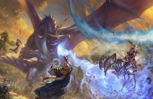 Paizo dragonbattlechapteropener liesetiawanr by LieSetiawan