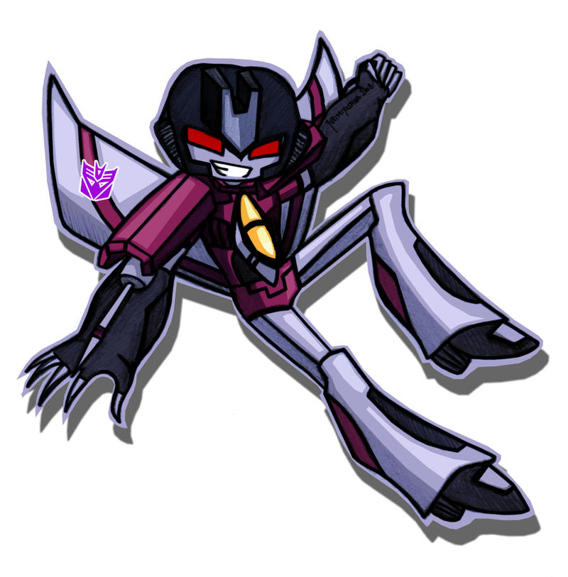 Starscream Animated by YukiMiyasawa