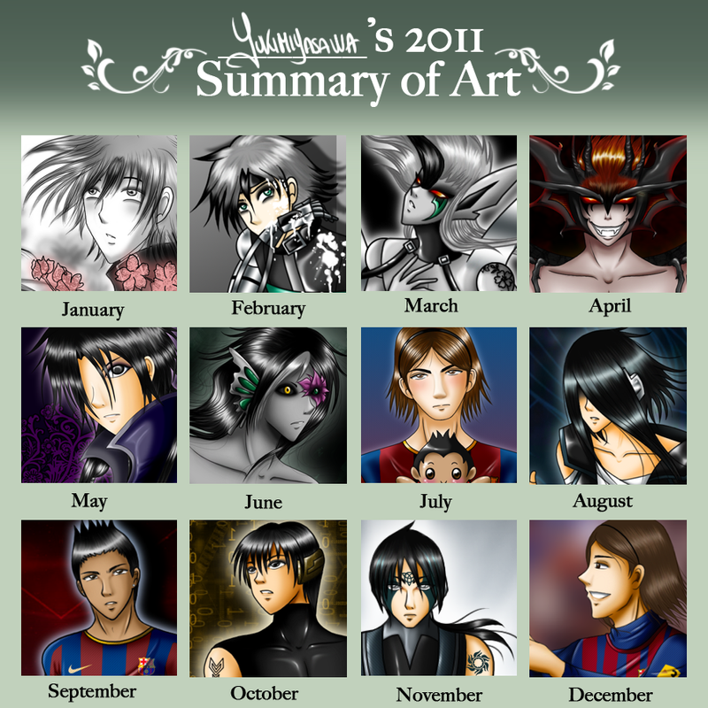 2011 Summary of Art by YukiMiyasawa