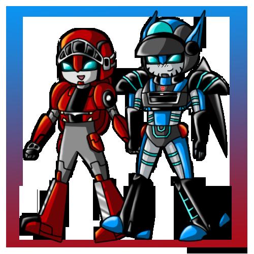 CC- Firecracker and BlueClaw by YukiMiyasawa