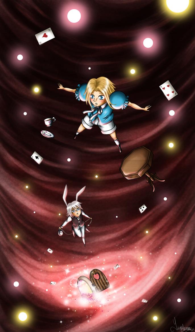 Wait me!!...Mr. White Rabbit! by YukiMiyasawa
