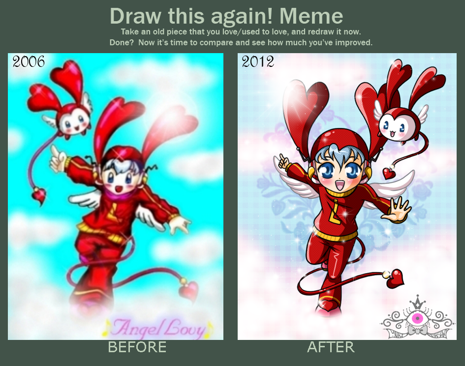 Draw this Again - Angel Lovy by YukiMiyasawa
