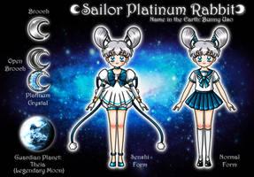 Sailor Platinum Rabbit Ref. by YukiMiyasawa