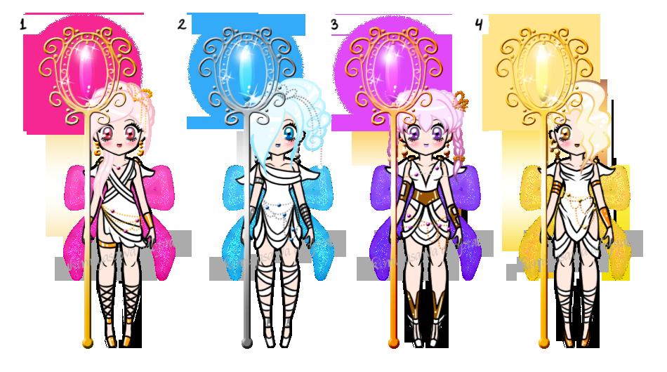 Mythological Sailor Senshi Batch Adoptables CLOSED by YukiMiyasawa