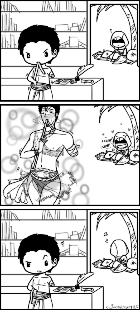 Altair x Malik - Belly Dance? by YukiMiyasawa