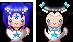 PC - Sailor Enion and Stardust n' Teacup by YukiMiyasawa