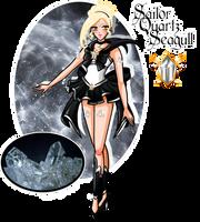 Crystal Animamates - Sailor Quartz Seagull by YukiMiyasawa