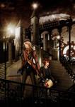 Steampunk Contest Winner - City of Lights by YukiMiyasawa