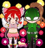 Kawaii Heroes by YukiMiyasawa