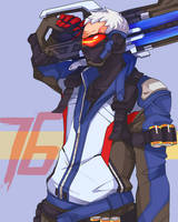 Soldier 76 by memoRinn
