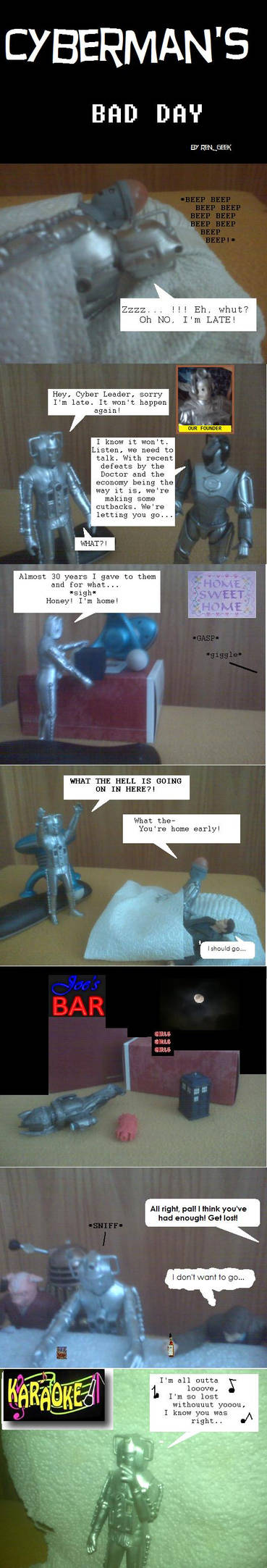 Cyberman's Bad Day