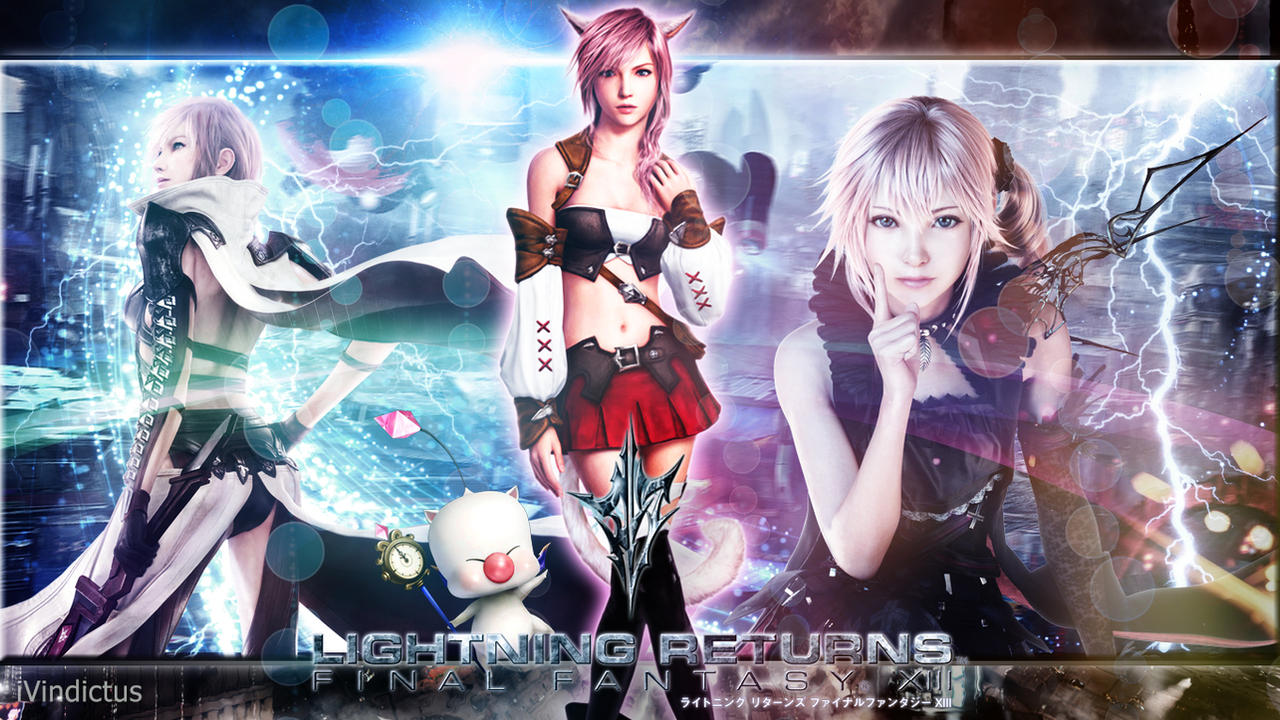 lightning returns final fantasy xiii wallpaper by