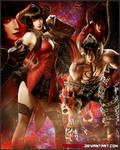 Eliza and Devil Jin - Tekken 7