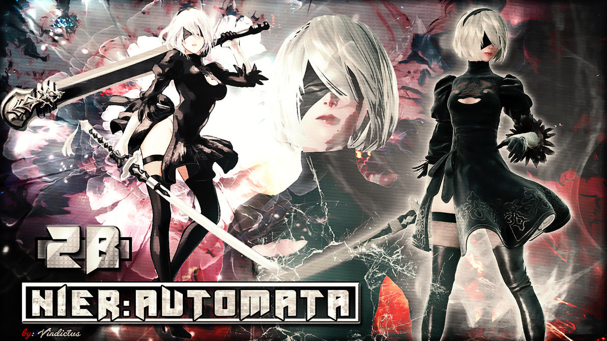 Nier: Automata 2B Wallpaper By IVindictus On DeviantArt