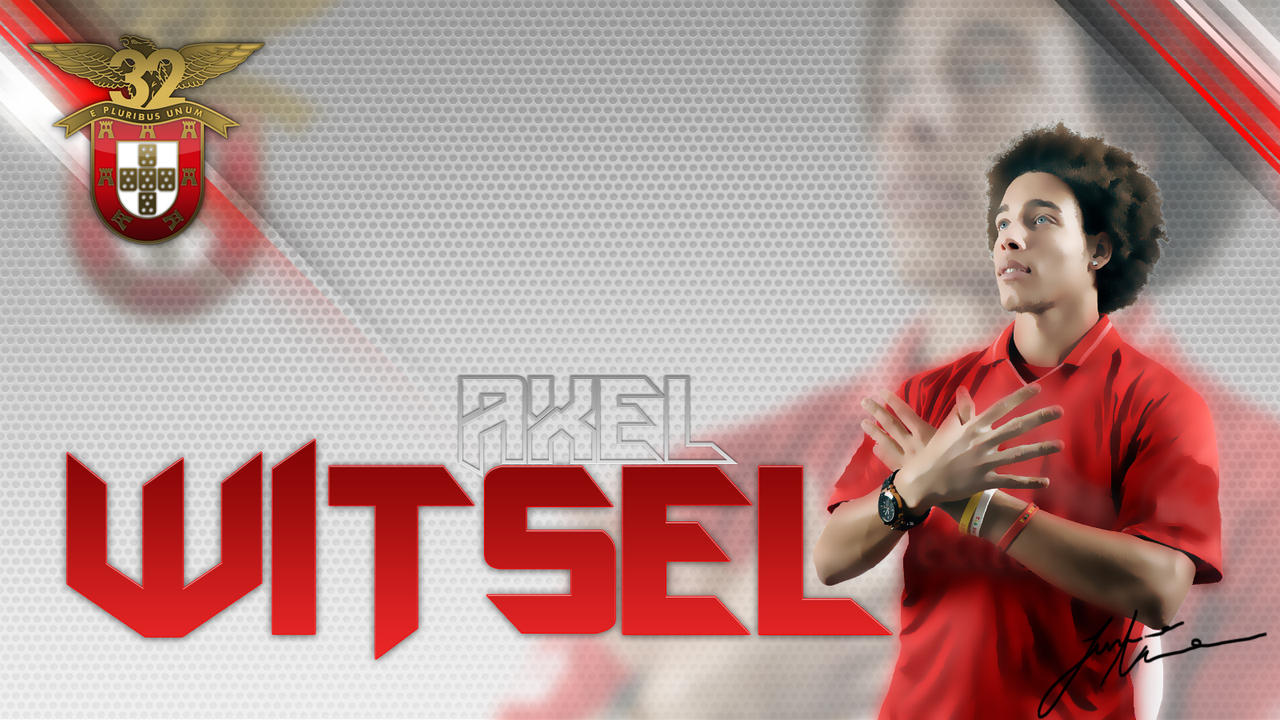 Benfica 2012 Axel Witsel by JuniorNeves on DeviantArt
