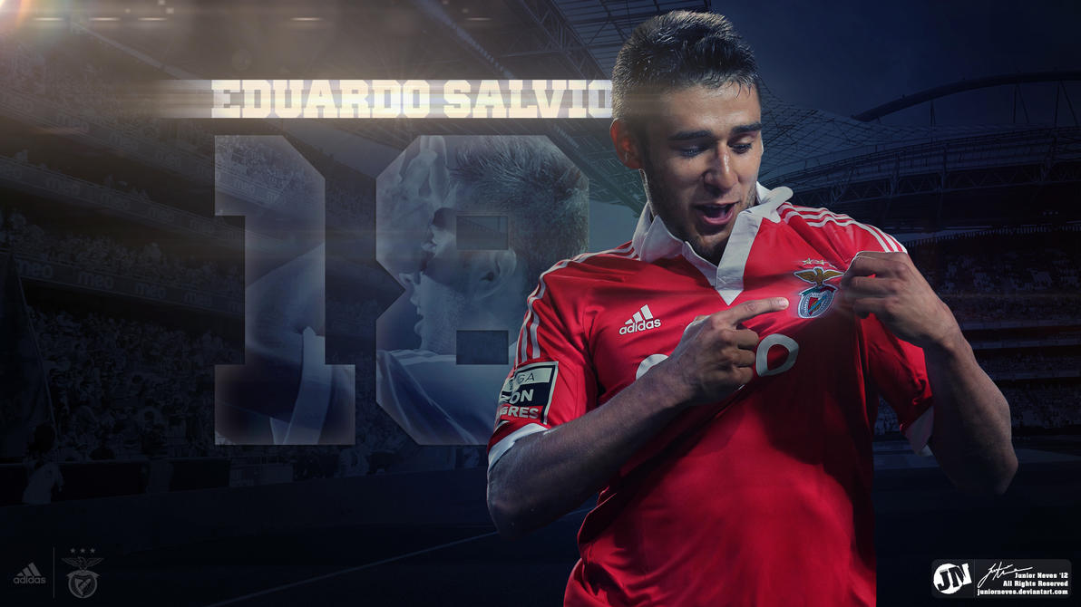 Eduardo Salvio by JuniorNeves