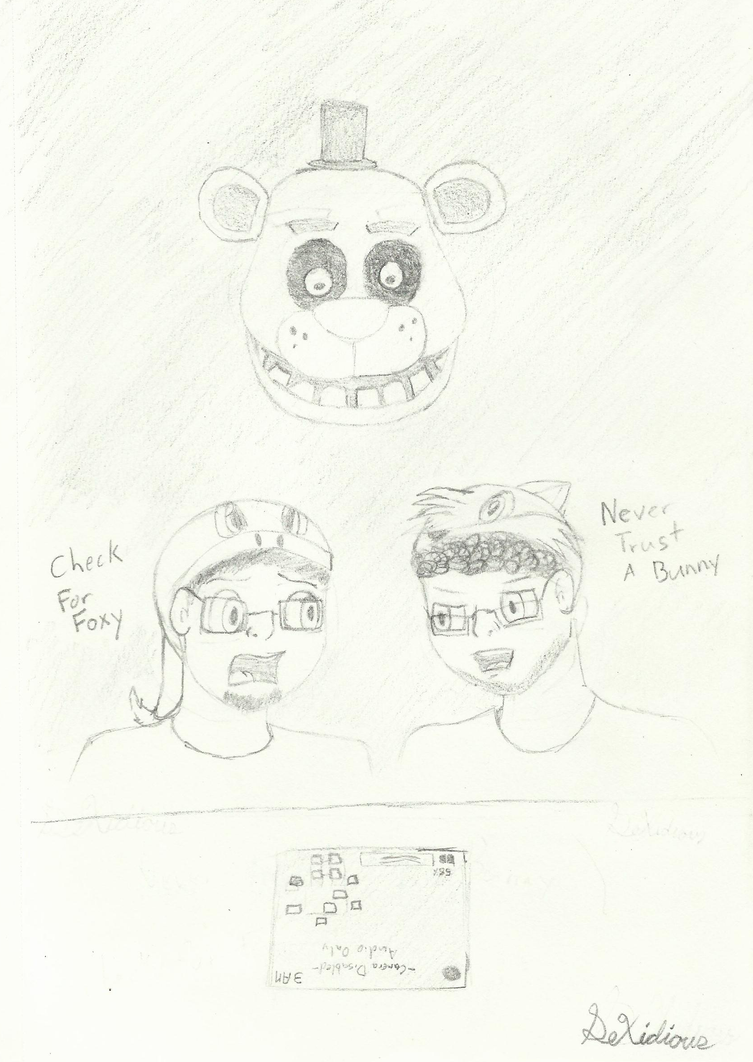 Five Nights at Freddys - Dubz Dezz by DeXidious
