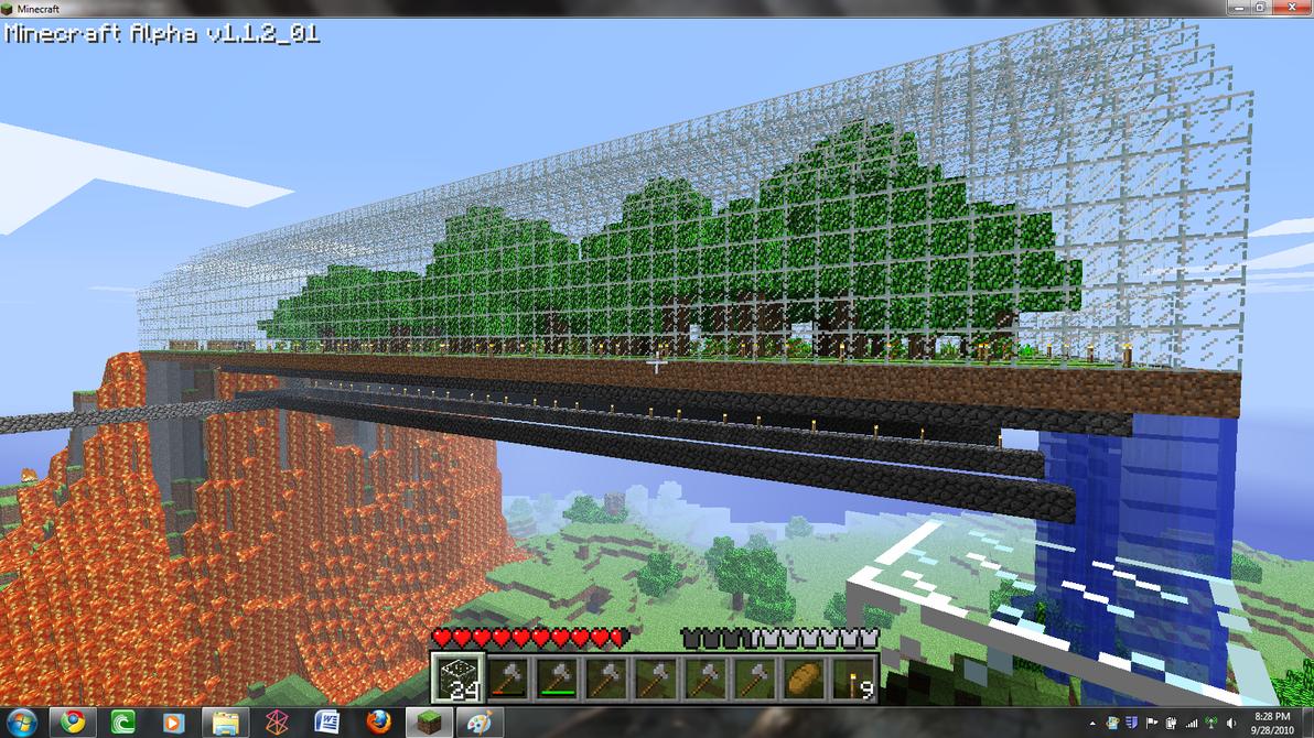Minecraft Greenhouse By Caboose909 On Deviantart