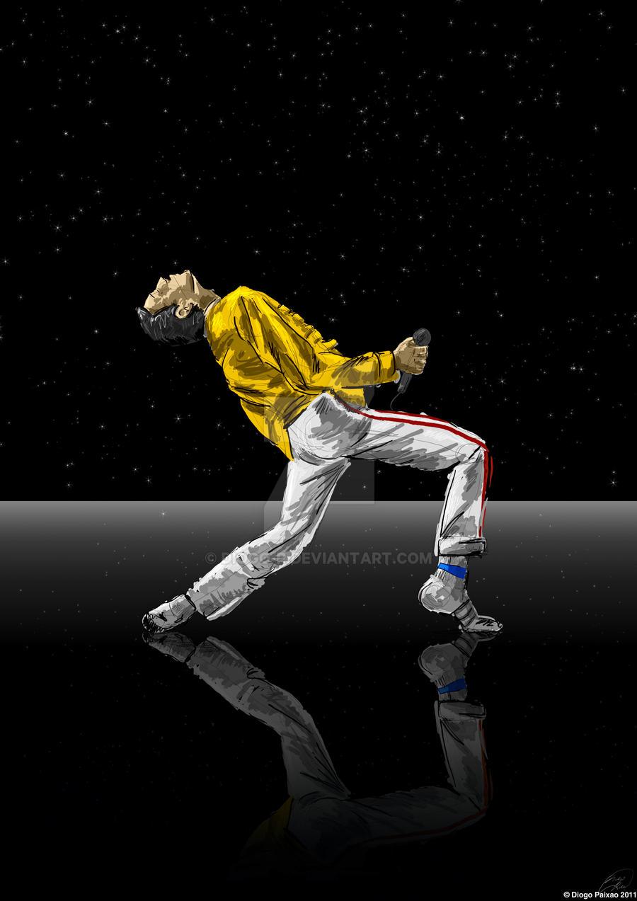 Queen - Freddie Mercury by diogo-p on DeviantArt