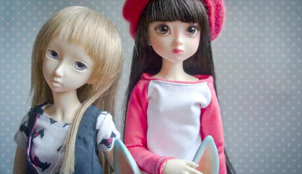 Risa and Soony by Bykashka