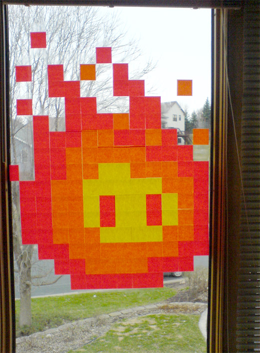 8-Bit Fireball by Bolarg