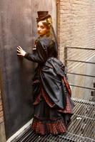 1880's Bustle Dress Back by Opergeist